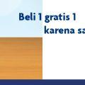 Promo McDonald's Beli 1 Gratis 1 UOB