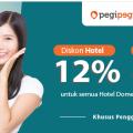 Pegipegi.com Promo Spesial Diskon 12% & Rp. 15.000 BNI