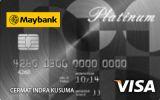 Kartu Kredit Maybank Visa Platinum