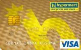 Kartu Kredit Mandiri Hypermart Card Gold