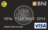 Kartu Kredit BNI-Bike To Work Card Platinum