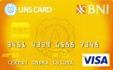Kartu Kredit BNI-UNS Card Gold