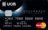Kartu Kredit UOB Preferred Platinum MasterCard