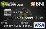 Kartu Kredit BNI-Universitas Sumatera Utara Card Platinum