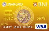 Kartu Kredit BNI-UNAIR Card Gold