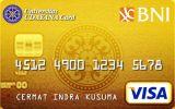 Kartu Kredit BNI-Udayana Card Gold