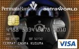 Kartu Kredit AstraWorld Permata Card Gold