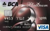Kartu Kredit BCA Visa Platinum