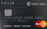Kartu Kredit OCBC NISP Solid Titanium