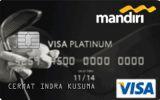 Kartu Kredit Mandiri Golf Card Platinum