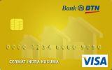 Kartu Kredit BTN Visa Gold