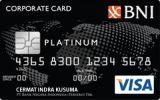 Kartu Kredit BNI Corporate Card Platinum