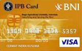 Kartu Kredit BNI-IPB Card Gold