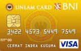 Kartu Kredit BNI-UNLAM Card Gold
