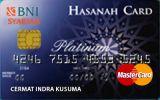 Kartu Kredit BNI Syariah Hasanah Card Platinum