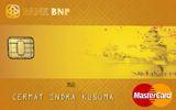 Kartu Kredit Bank BNP MasterCard Gold