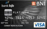 Kartu Kredit Bank BJB Credit Card Platinum