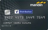Kartu Kredit Mandiri Distribution Card