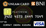 Kartu Kredit BNI-UNLAM Card Platinum
