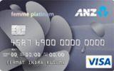 Kartu Kredit ANZ Femme Platinum