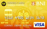 Kartu Kredit BNI-UNNES Card Gold