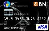 Kartu Kredit BNI-Ikatan Alumni ITS Card Platinum