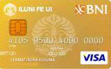 Kartu Kredit BNI-ILUNI FE UI Card Gold