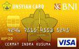 Kartu Kredit BNI-UNSYIAH Card Gold
