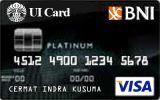 Kartu Kredit BNI-UI Card Platinum