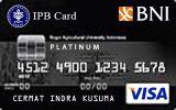 Kartu Kredit BNI-IPB Card Platinum