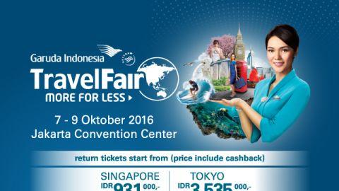 Garuda Indonesia Travel Fair, JCC Senayan, 7-9 Okt 2016 [BNI]