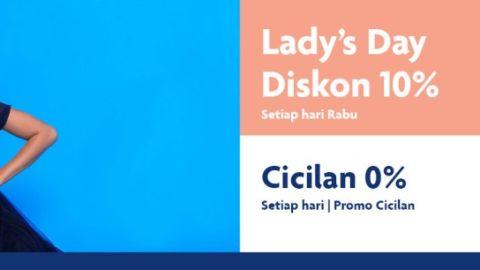 Promo Lady's Day Pink Sugar Diskon 10%  UOB