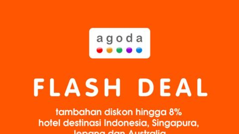 Diskon 8% untuk destinasi Indonesia,Singapura,Jepang dan Australia di Agoda.com BNI