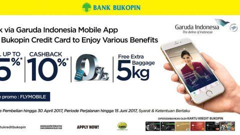 Book Via Garuda Indonesia Mobile App Disc Up To 15% Promo Bukopin