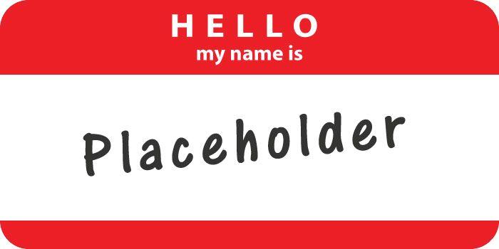 Pelajaran dari penggunaan placeholder