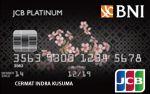Kartu Kredit BNI JCB Platinum Card