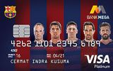 Mega Barca Card