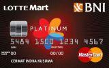 BNI-LOTTEMart Card Platinum