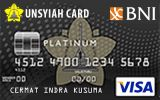 BNI-UNSYIAH Card Platinum