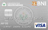 BNI-Universitas Negeri Medan Card Silver