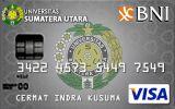 BNI-Universitas Sumatera Utara Card Silver