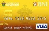 BNI-Universitas Hasanuddin Card Gold