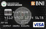 BNI-Universitas Negeri Medan Card Platinum