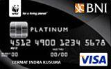 BNI-WWF Card Platinum