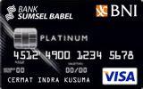 BNI-Bank SumselBabel Card Platinum