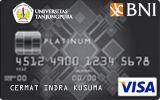 BNI-Universitas Tanjungpura Card Platinum