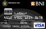 BNI-Pancasila Card Platinum