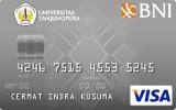 BNI-Universitas Tanjungpura Card Silver