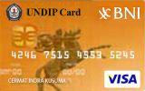 BNI-UNDIP Card Gold
