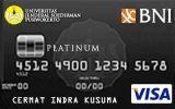 BNI-Universitas Jenderal Soedirman Purwokerto Card Platinum